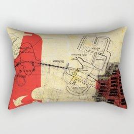 overflow #21 Rectangular Pillow