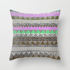 CANDIE LEO Throw Pillow