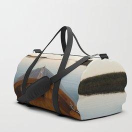 Summer Mornings On The Lake Duffle Bag