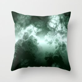 toxical sky Throw Pillow
