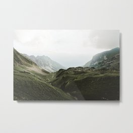 Beam Landscape Photography Metal Print