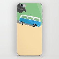 Dharma Van vs Smoke Monster iPhone Skin