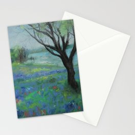 Texas Bluebonnet Trail Stationery Cards