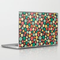 coraline Laptop & iPad Skins featuring The other buttons... by NDTank