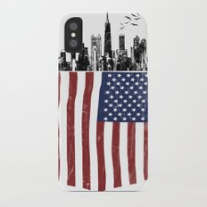 America city Slim Case iPhone X