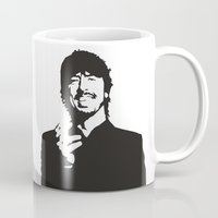 david fleck Mugs featuring david by b & c