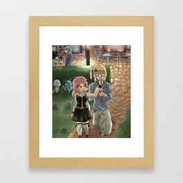 Nalu Date. Framed Art Print