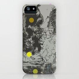 Walking Away from Certain Doom iPhone Case