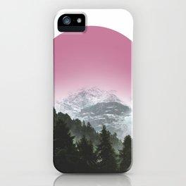 Mountain Glory iPhone Case