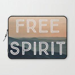 Free Spirit (Mountains) Laptop Sleeve
