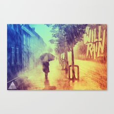 It Will Rain Canvas Print