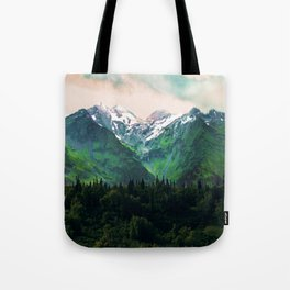 Escaping from woodland heights IV Tote Bag
