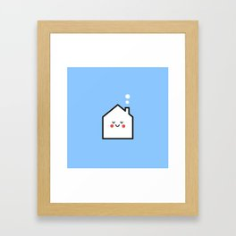 little house Framed Art Print