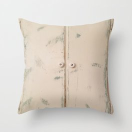 Shabby Chic, Cabinet Doors, Doors Throw Pillow