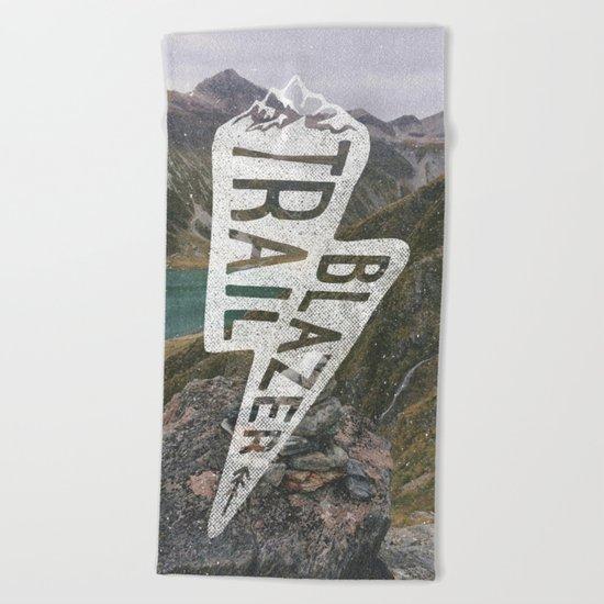 Trail Blazer Beach Towel