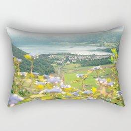 Sete Cidades crater lake Rectangular Pillow