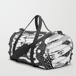 Escher - Bond of union Duffle Bag