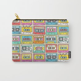Nostalgia Audio Music Mix Cassette Tape Carry-All Pouch