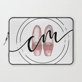 Caitlyn Manfre Designs Logo Laptop Sleeve