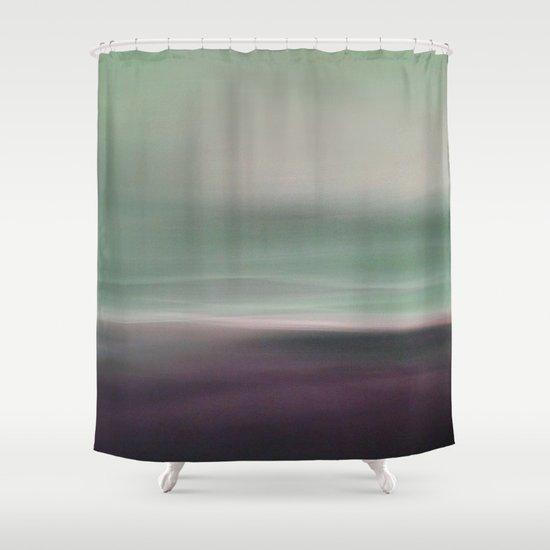 Seascape 2 shower curtain by lena weiss society6 for Seascape bathroom ideas