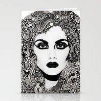 psych Stationery Cards featuring psych hair by Blak Hand