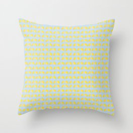 Catch the Half Lemon (Pattern Version) Throw Pillow