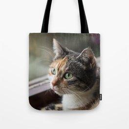 Lippy Cat Tote Bag