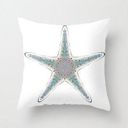 Fishtales: Starfish 3 Throw Pillow