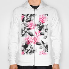 Rose Garden in Pink and Gray Hoody