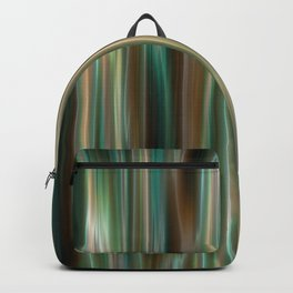 Gold and Green Streaks Backpack