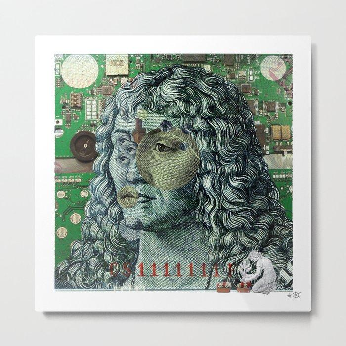 10 DM Collage Metal Print