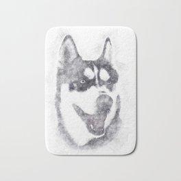 Husky Bath Mat
