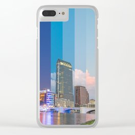 Timeslice Tampa Clear iPhone Case