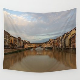 Ponte Vecchio Italy Wall Tapestry