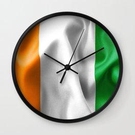 Ivory Coast Flag Wall Clock