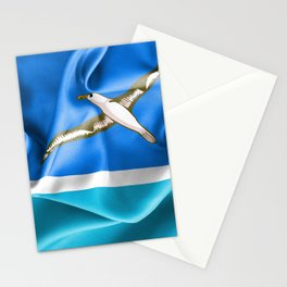 Midway Islands Flag Stationery Cards