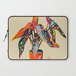 COLOURFUL BEGONIA PLANT  Laptop Sleeve