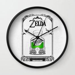 Zelda legend - Green potion  Wall Clock