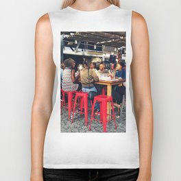 Lunch together Biker Tank