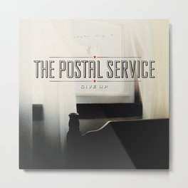 The Portal Service - Give Up Metal Print