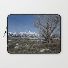 Grand Tetons from Gros Ventre Laptop Sleeve