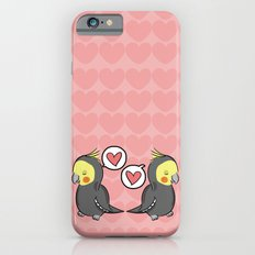 Cockatiel Pattern iPhone 6s Slim Case