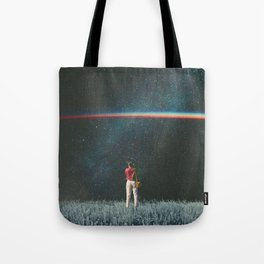 Saw The Light Tote Bag