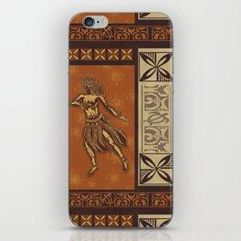 Hula Dance Like No One Is Watching iPhone Skin