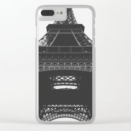 French Cliche Clear iPhone Case
