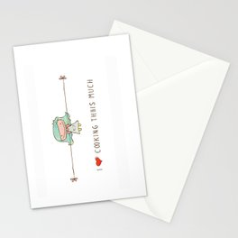 I love cooking girl Stationery Cards