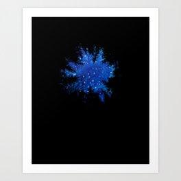 Up, at night, alone II Art Print