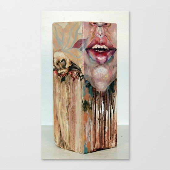 My Inevitable Self Destruction Canvas Print