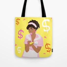 She Works Hard for the Money - Donna Summer 1980s Tote Bag