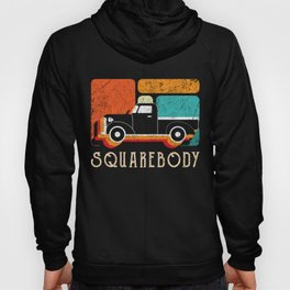 Retro Vintage Square Body Accelerate Drive Rear Wheel Car Ride On Car Vehicle Driver Travel Garage Hoody